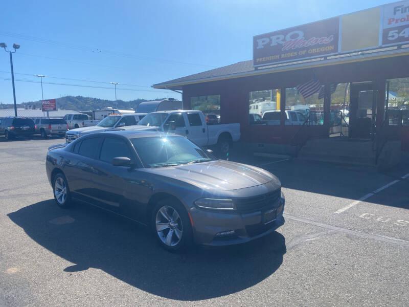 2016 Dodge Charger for sale at Pro Motors in Roseburg OR