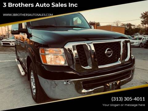 2013 Nissan NV Passenger for sale at 3 Brothers Auto Sales Inc in Detroit MI