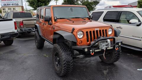 2010 Jeep Wrangler Unlimited for sale at Silverline Auto Boise in Meridian ID