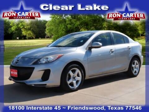 2013 Mazda MAZDA3 for sale at Ron Carter  Clear Lake Used Cars in Houston TX