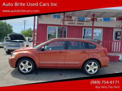2008 Dodge Caliber for sale at Auto Brite Used Cars Inc in Saginaw MI
