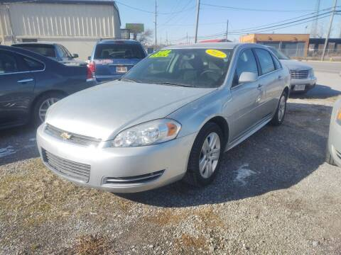 2011 Chevrolet Impala for sale at Mr E's Auto Sales in Lima OH