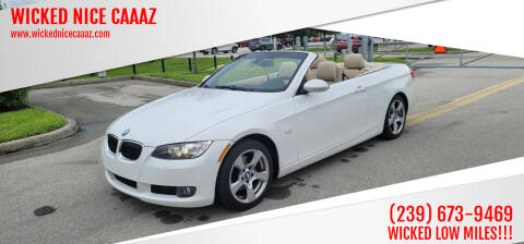 2009 BMW 3 Series for sale at WICKED NICE CAAAZ in Cape Coral FL