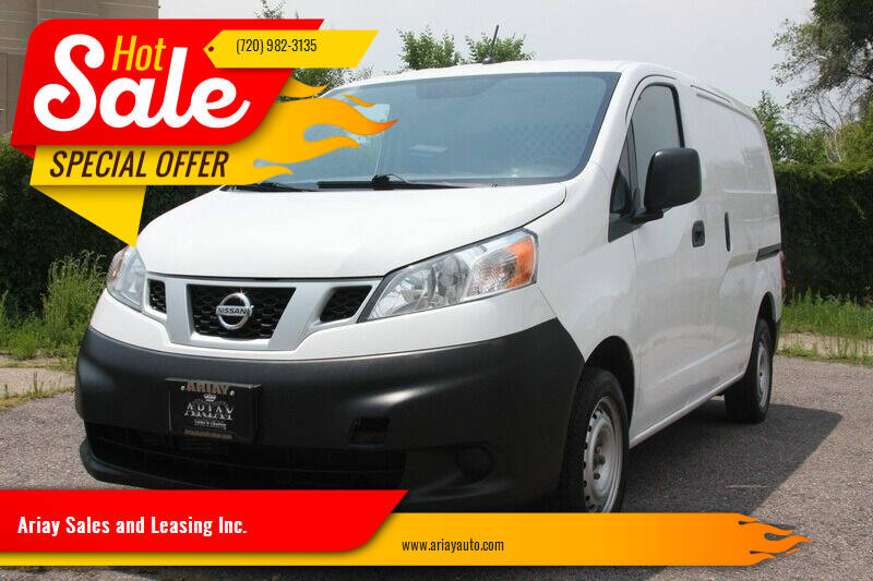 2017 Nissan NV200 for sale at Ariay Sales and Leasing Inc. - Pre Owned Storage Lot in Glendale CO