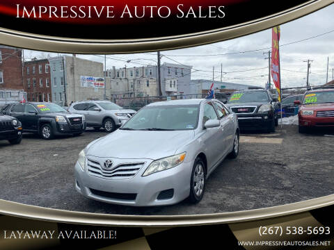 2010 Toyota Camry for sale at Impressive Auto Sales in Philadelphia PA