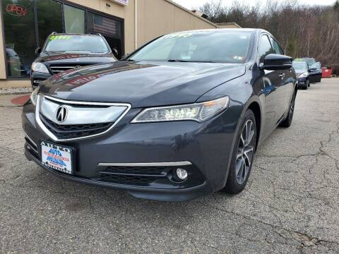 2015 Acura TLX for sale at Auto Wholesalers Of Hooksett in Hooksett NH