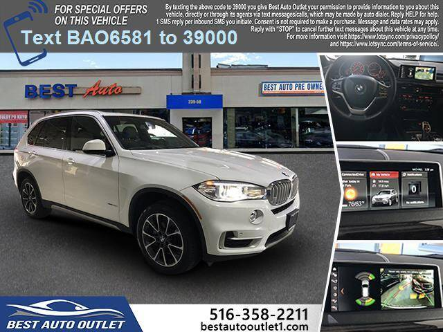 2018 BMW X5 for sale at Best Auto Outlet in Floral Park NY