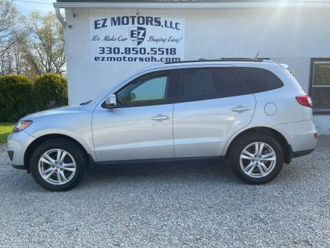 2011 Hyundai Santa Fe for sale at EZ Motors in Deerfield OH