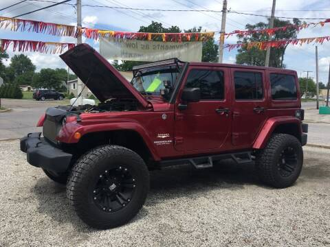 2011 Jeep Wrangler Unlimited for sale at Antique Motors in Plymouth IN