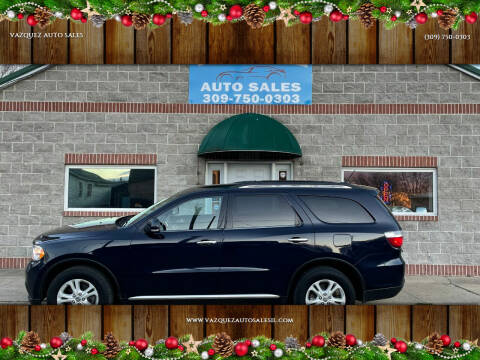 2013 Dodge Durango for sale at VAZQUEZ AUTO SALES in Bloomington IL