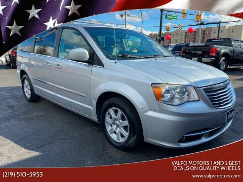 2012 Chrysler Town and Country for sale at Valpo Motors 1 and 2  Best Deals On Quality Wheels in Valparaiso IN