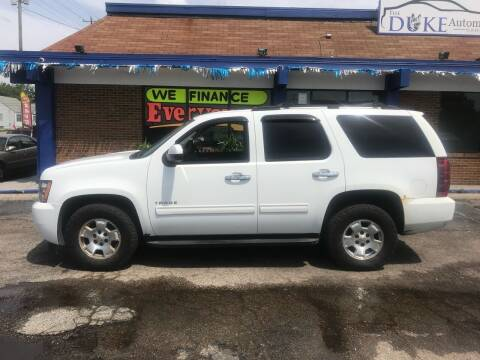 2010 Chevrolet Tahoe for sale at Duke Automotive Group in Cincinnati OH