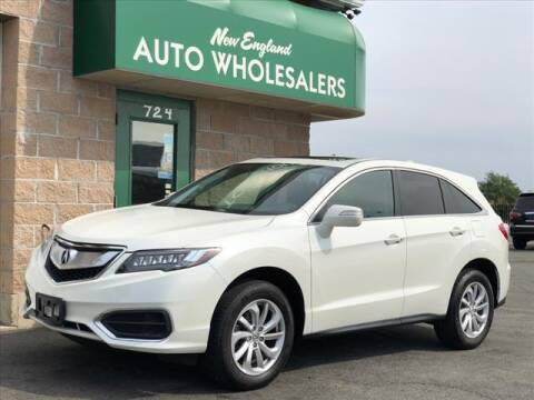 2017 Acura RDX for sale at New England Wholesalers in Springfield MA