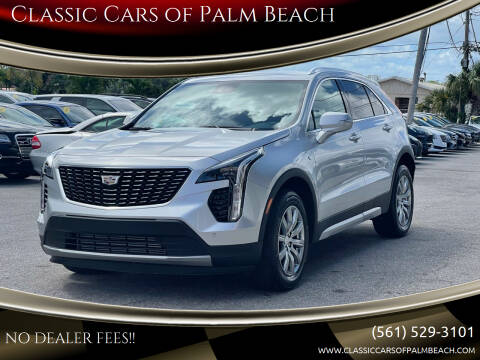 2021 Cadillac XT4 for sale at Classic Cars of Palm Beach in Jupiter FL