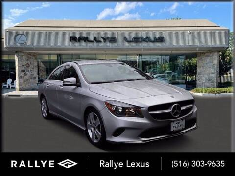 2018 Mercedes-Benz CLA for sale at RALLYE LEXUS in Glen Cove NY