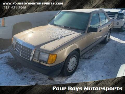 1987 Mercedes-Benz 300-Class for sale at Four Boys Motorsports in Wadena MN