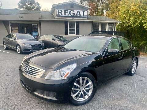 2008 Infiniti G35 for sale at Regal Auto Sales in Marietta GA
