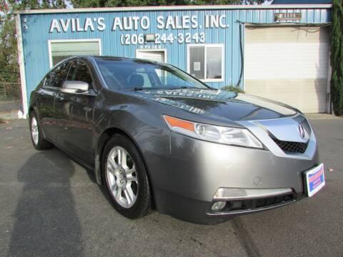 2010 Acura TL for sale at Avilas Auto Sales Inc in Burien WA