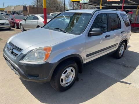 2003 Honda CR-V for sale at Cash Car Outlet in Mckinney TX