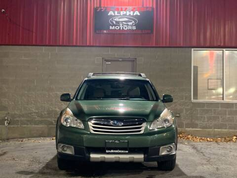 2011 Subaru Outback for sale at Alpha Motors in Chicago IL