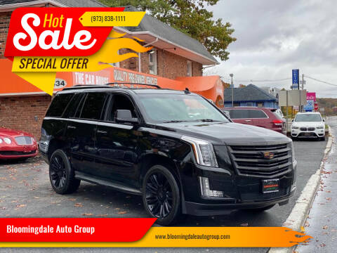 2015 Cadillac Escalade for sale at Bloomingdale Auto Group - The Car House in Butler NJ