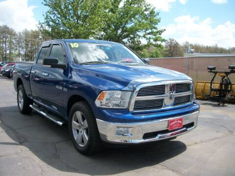 2010 Dodge Ram Pickup 1500 for sale at Lloyds Auto Sales & SVC in Sanford ME