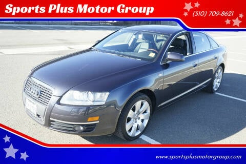 2007 Audi A6 for sale at Sports Plus Motor Group LLC in Sunnyvale CA