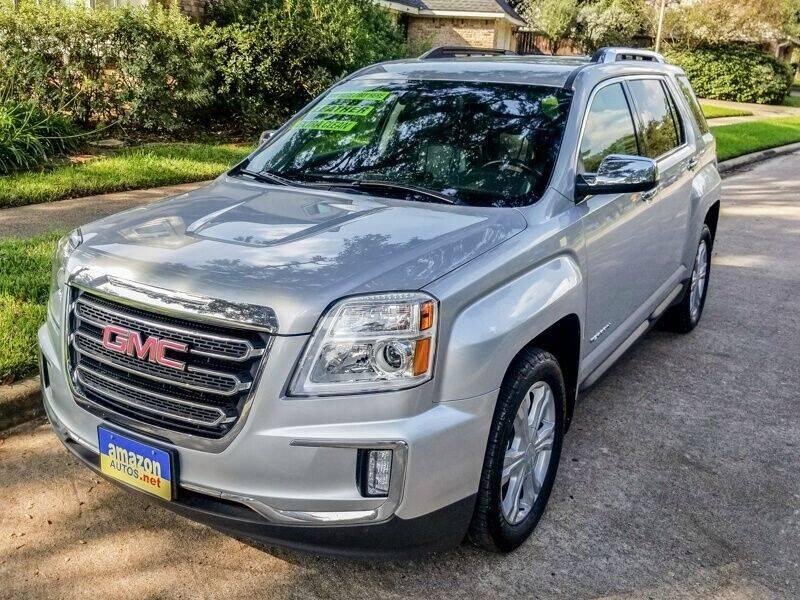 2017 GMC Terrain for sale at Amazon Autos in Houston TX
