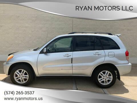 2003 Toyota RAV4 for sale at Ryan Motors LLC in Warsaw IN