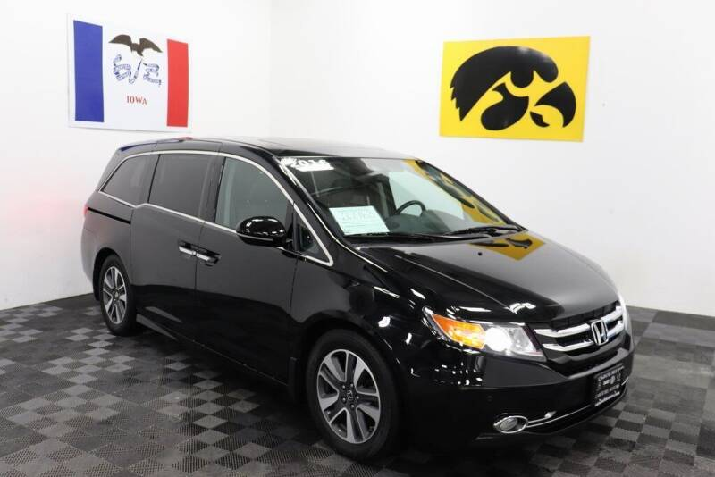 2016 Honda Odyssey for sale at Carousel Auto Group in Iowa City IA