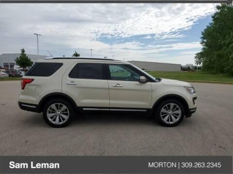 2018 Ford Explorer for sale at Sam Leman CDJRF Morton in Morton IL