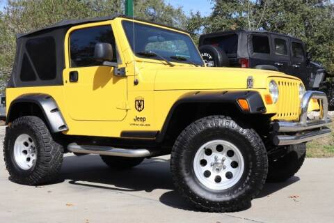 2006 Jeep Wrangler for sale at SELECT JEEPS INC in League City TX
