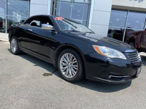 2014 Chrysler 200 Convertible for sale at South Shore Chrysler Dodge Jeep Ram in Inwood NY