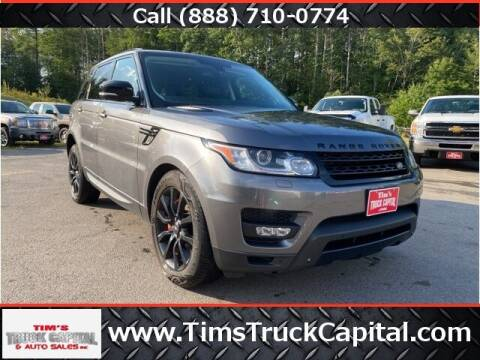 2015 Land Rover Range Rover Sport for sale at TTC AUTO OUTLET/TIM'S TRUCK CAPITAL & AUTO SALES INC ANNEX in Epsom NH