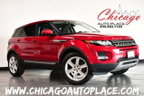 2015 Land Rover Range Rover Evoque for sale at Chicago Auto Place in Bensenville IL
