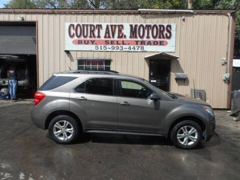 2012 Chevrolet Equinox for sale at Court Avenue Motors in Adel IA