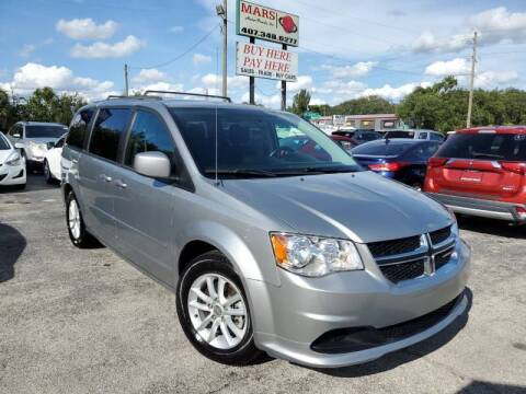 2016 Dodge Grand Caravan for sale at Mars auto trade llc in Kissimmee FL