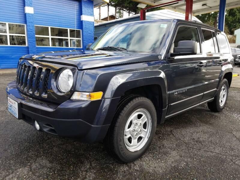 2014 Jeep Patriot for sale at Shoreline Family Auto Care And Sales in Shoreline WA
