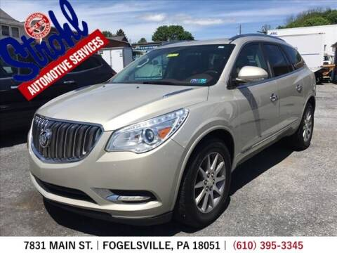 2014 Buick Enclave for sale at Strohl Automotive Services in Fogelsville PA