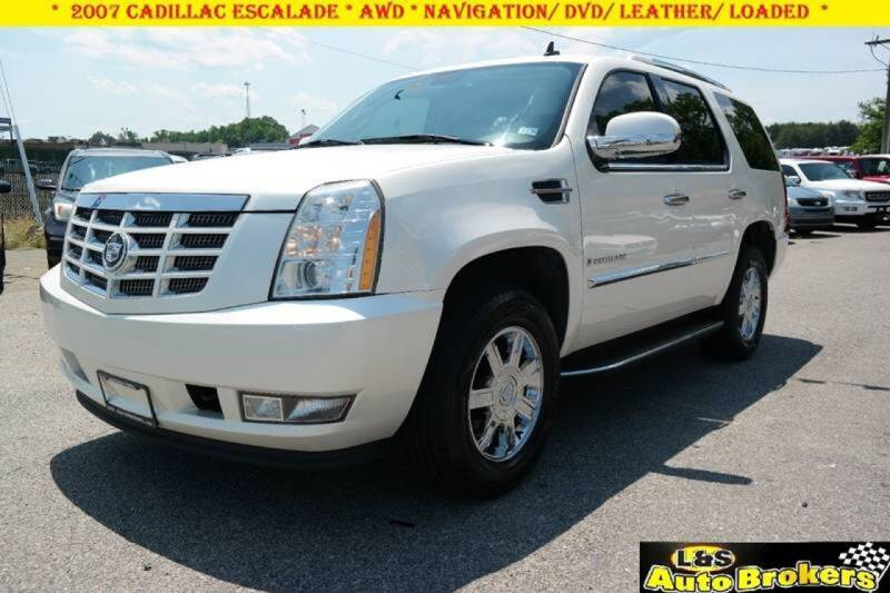 2007 Cadillac Escalade for sale at L & S AUTO BROKERS in Fredericksburg VA