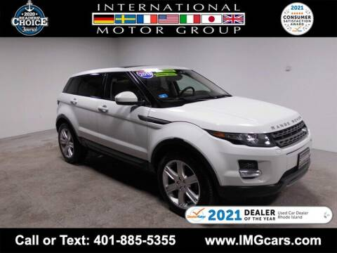 2015 Land Rover Range Rover Evoque for sale at International Motor Group in Warwick RI