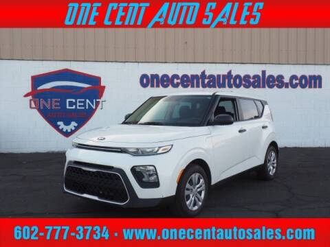 2020 Kia Soul for sale at One Cent Auto Sales in Glendale AZ