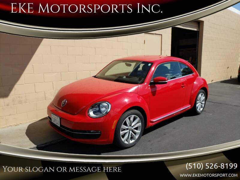 2014 Volkswagen Beetle TDI 2dr Coupe 6M - El Cerrito CA