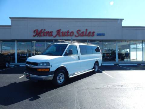 2010 Chevrolet Express Passenger for sale at Mira Auto Sales in Dayton OH