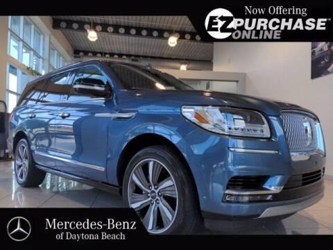 2019 Lincoln Navigator for sale at Mercedes-Benz of Daytona Beach in Daytona Beach FL