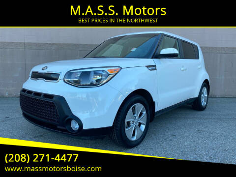 2016 Kia Soul for sale at M.A.S.S. Motors - Emerald in Boise ID