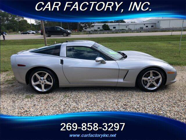 2005 Chevrolet Corvette for sale at Car Factory Inc. in Three Rivers MI