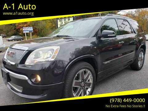 2012 GMC Acadia for sale at A-1 Auto in Pepperell MA