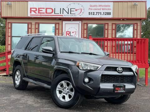 2014 Toyota 4Runner for sale at REDLINE AUTO SALES LLC in Cedar Creek TX