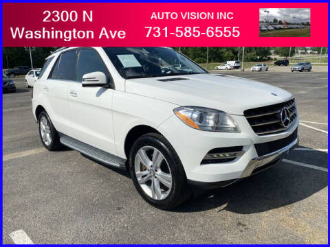2015 Mercedes-Benz M-Class for sale at Auto Vision Inc. in Brownsville TN